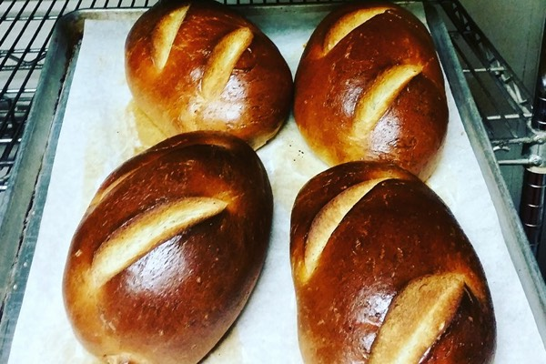 Our bread of the day changes daily, and is baked in house, by Pete, our baker.